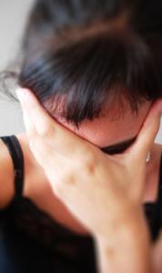 Distressed-Woman
